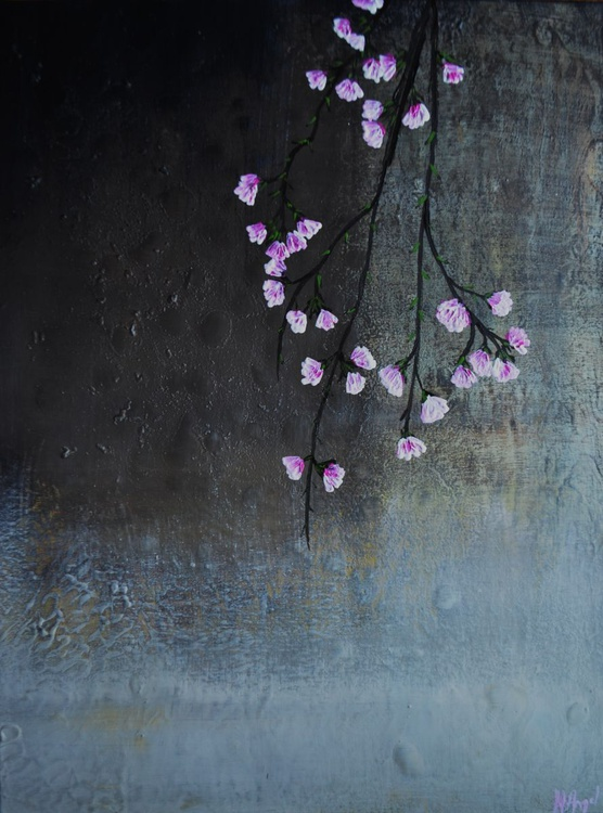 """Abstract floral """"Forever blooming' - Image 0"""