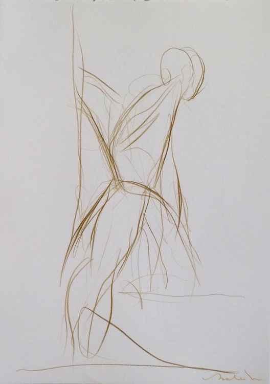 Foliage 8, pencil drawing 29x42 cm -