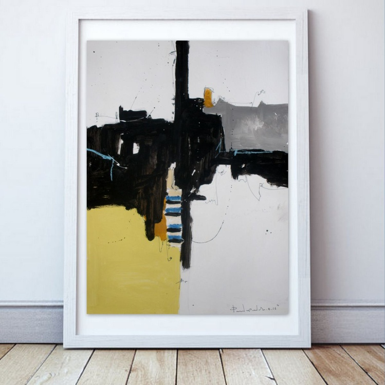 Yellow No 146, Abstract paper collection - Image 0