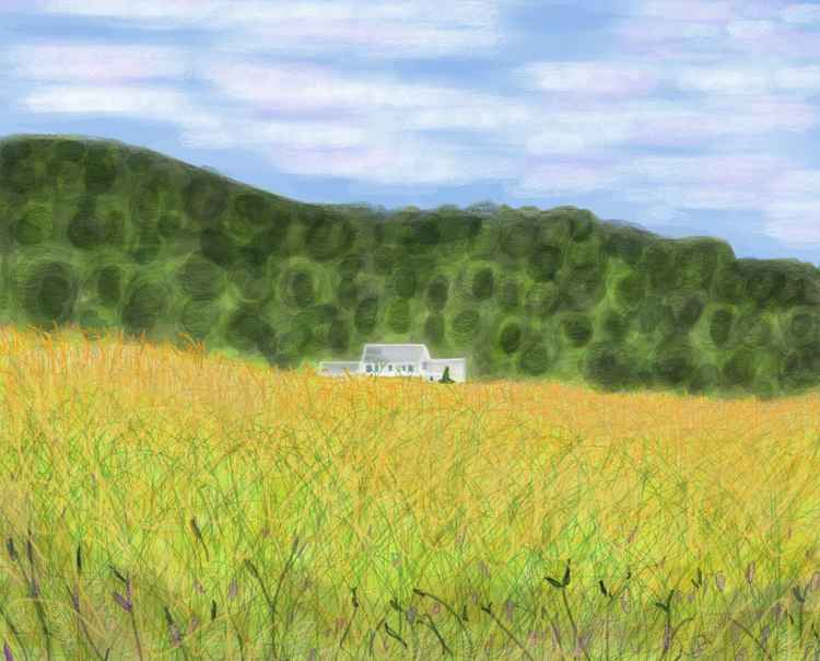 Vermont farm House -