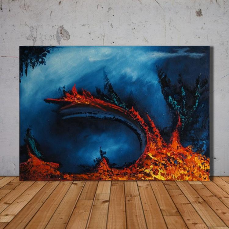 Heat Of The Night     (70 x 50 cm) - Image 0