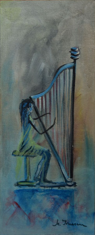 """Playing the Harp"" - Image 0"
