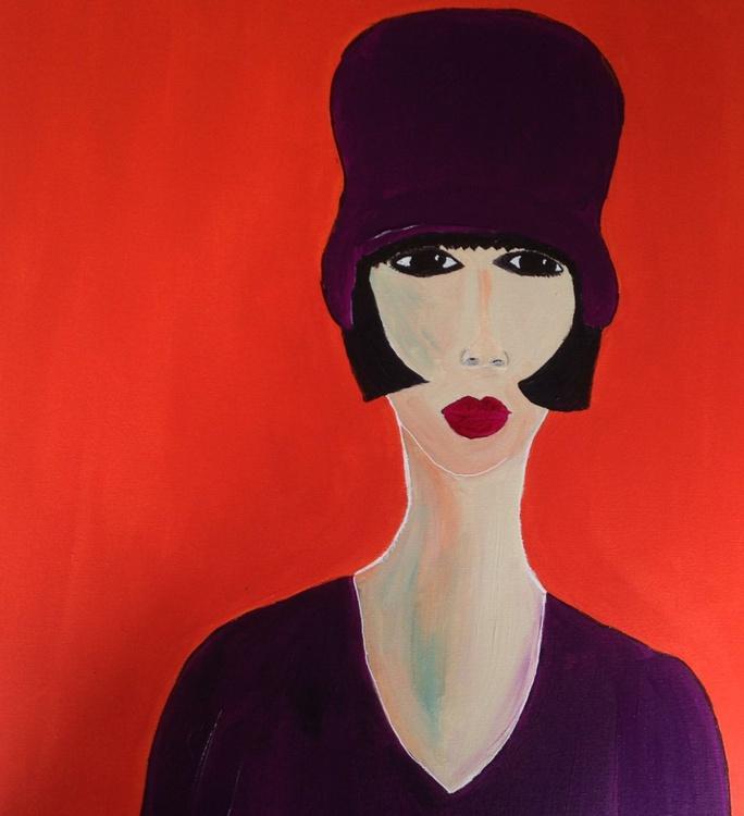 Purple Hat - Image 0