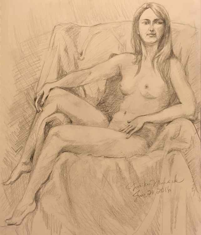Nude Drawing 3