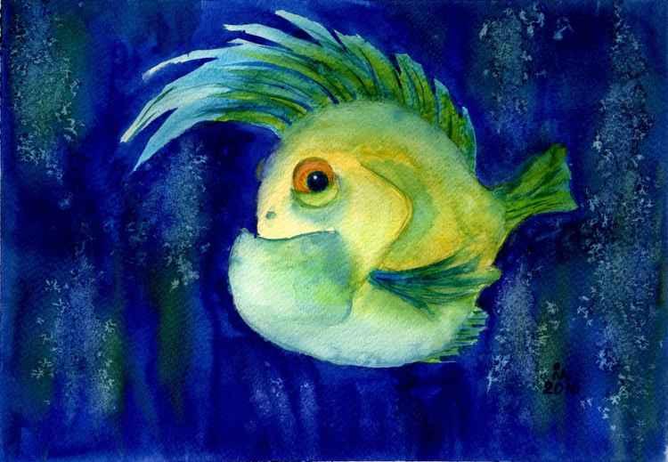 Irokez fish -