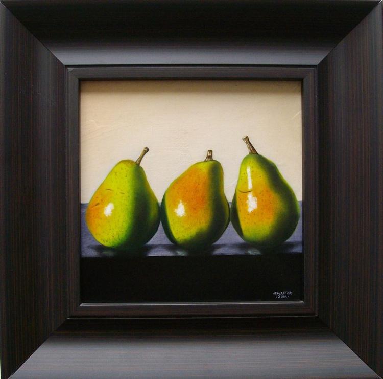 3 modern pears - Image 0