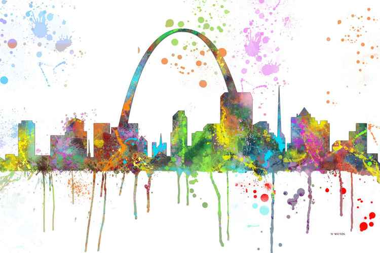 St Louis Skyline MCLR1 -