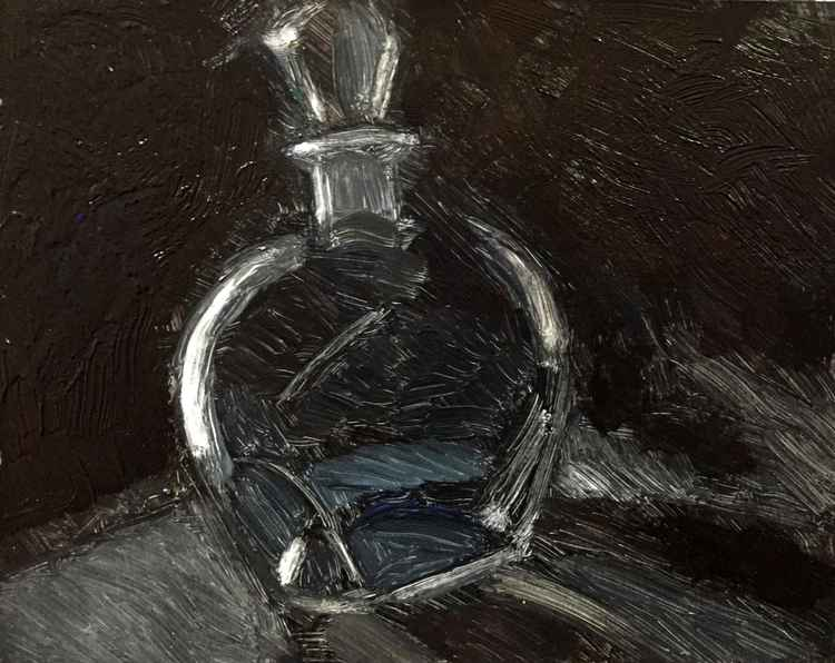 Decanter in Grey -