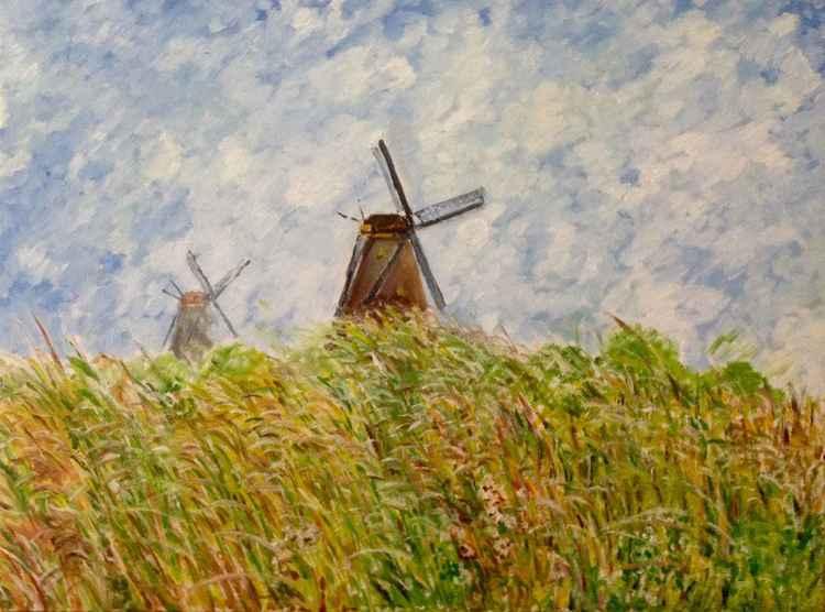 Old Windmills -
