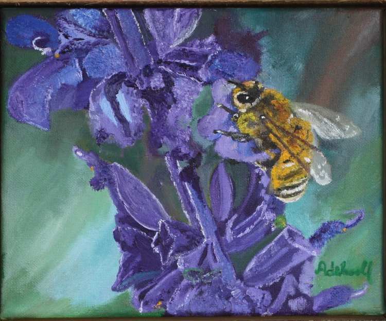 Bee & Purple Flower Spirit 2 Charity Friends of the Earth - Image 0