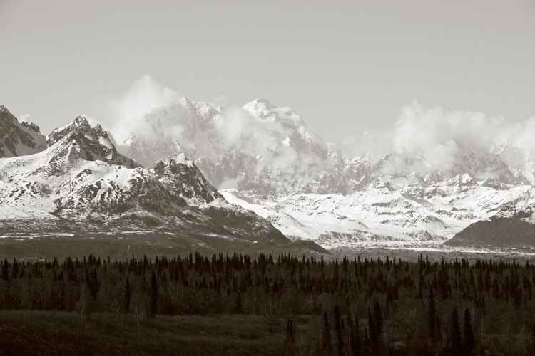 Unknown Peaks, Alaska Range -