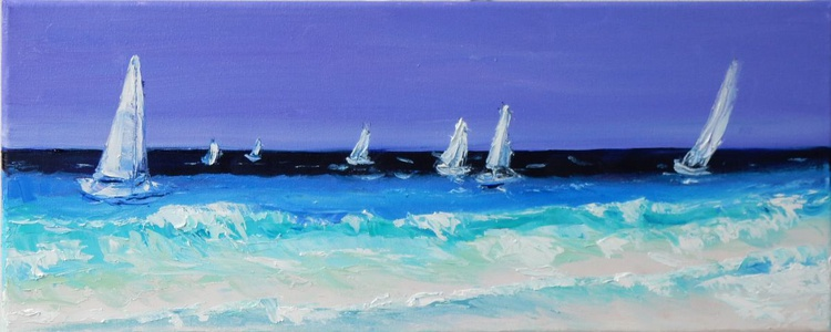 Seascape. Sailboats - Image 0