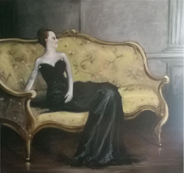 Madame Pierre Gautreau waiting for John Singer Sargent - Image 0