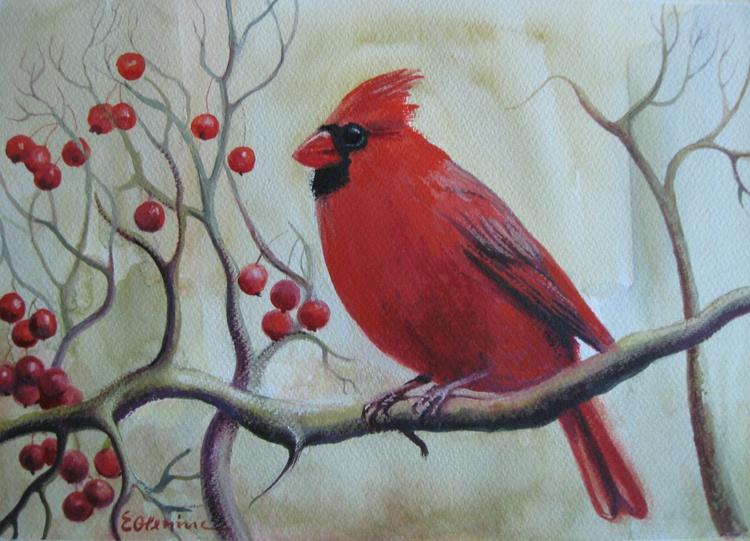 Red bird - Image 0
