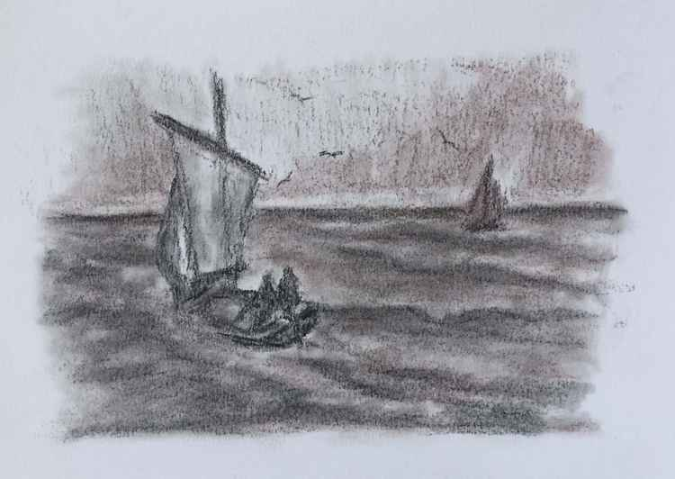 Sailboat No 6 -