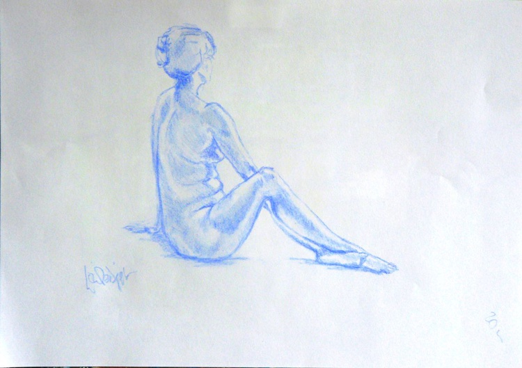 Kate in Blue - Image 0