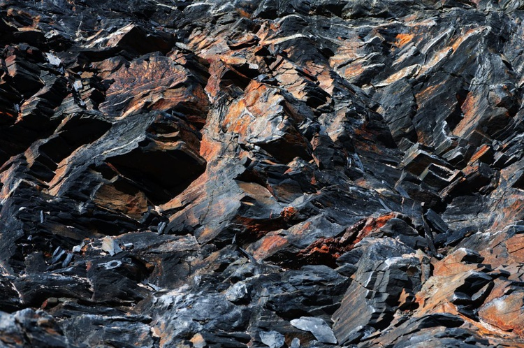 Rock Riffs No.3 - 1/25 - 18x12in Aluminium Mounted - Image 0