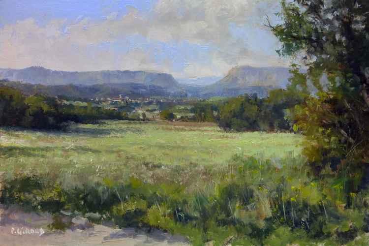 Landscape near Mison -