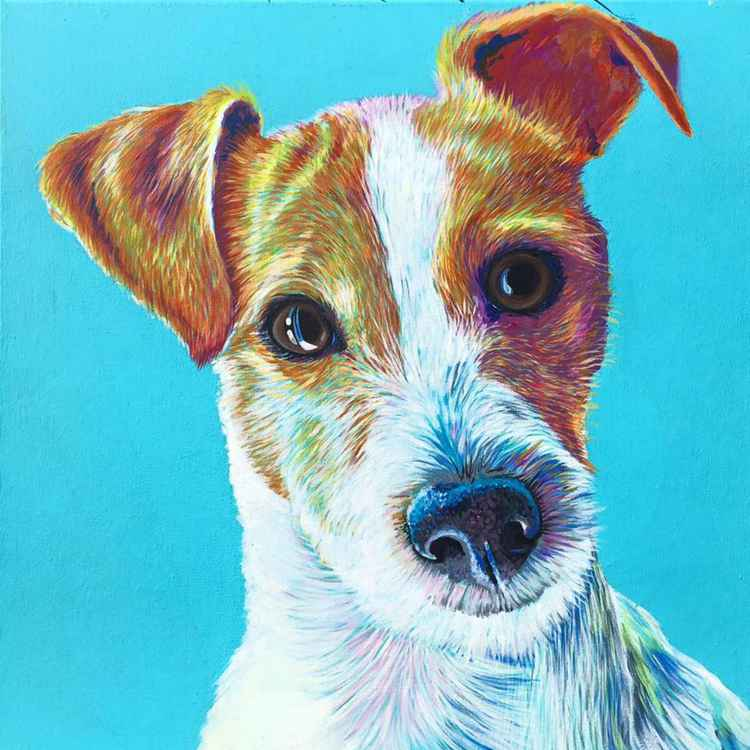 Original Painting of 'Alfie' by Kirstin Wood -
