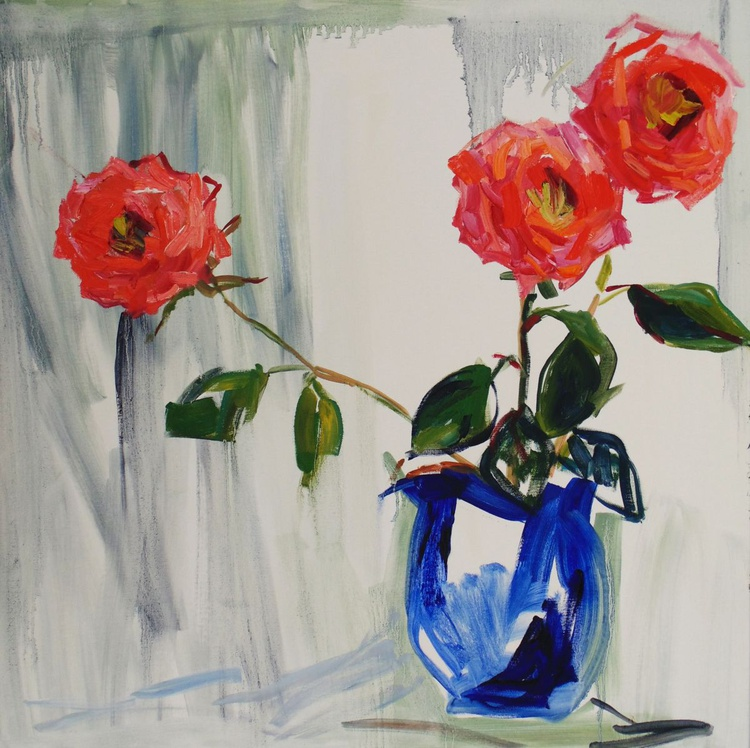 Three roses - Image 0