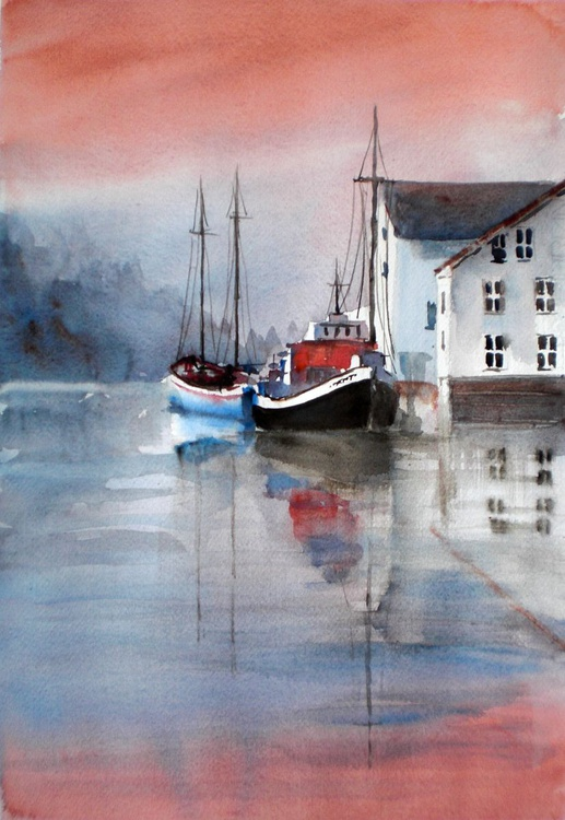 boats and houses - Image 0