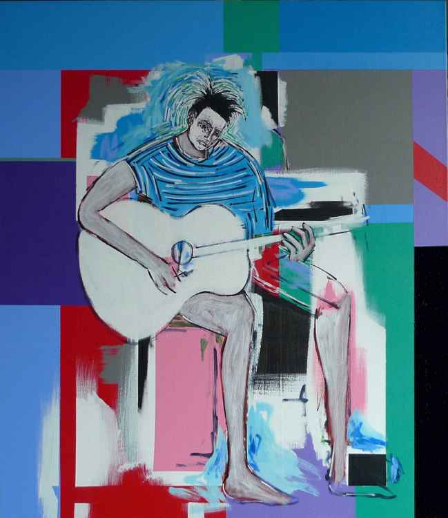 Figure with Guitar -