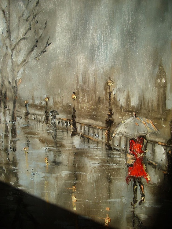 """"""" ONE DAY IN LONDON...-with you """" 70x100cm - Image 0"""