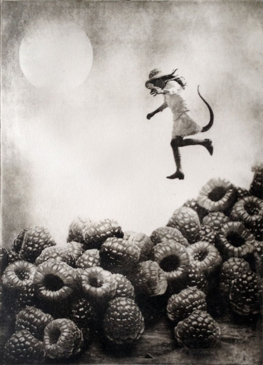 The Girl and The Berries - Image 0