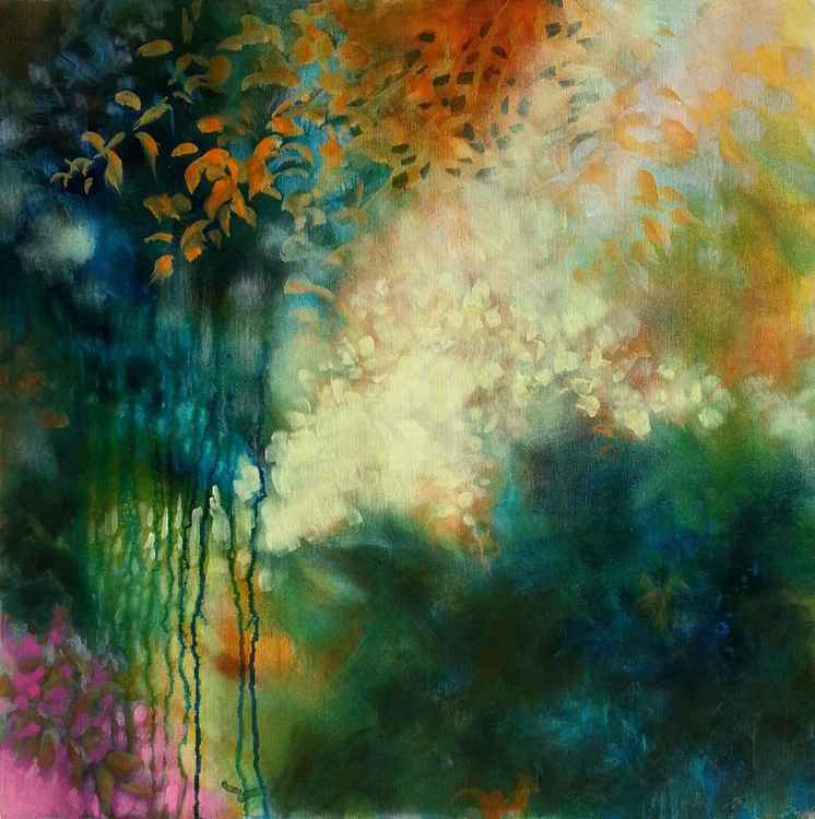 Autumn light - MEDIUM SIZE 60X60cm