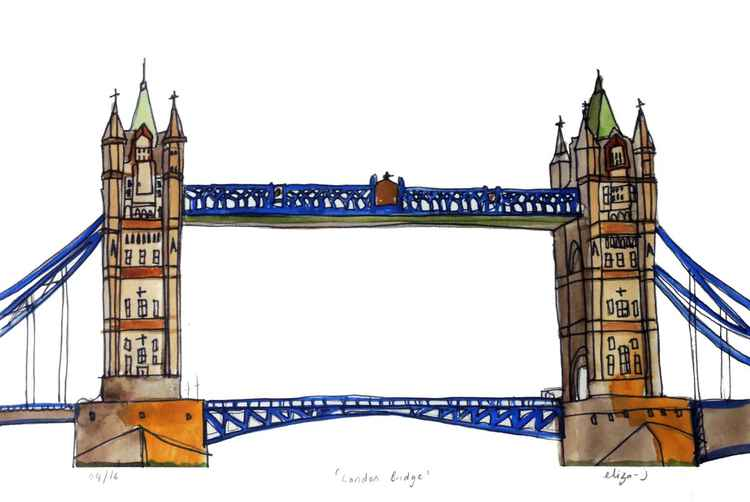 A London Bridge -
