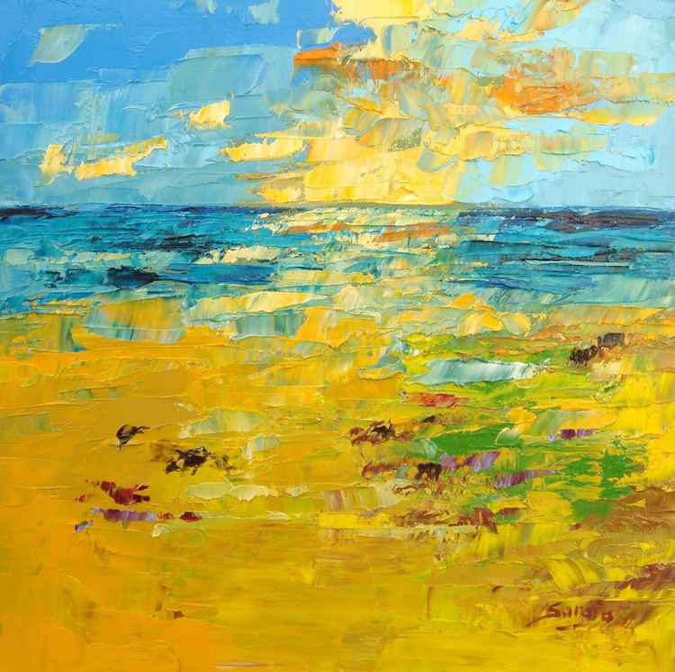 Seascape Yellow (ref#:1230-19Q) -