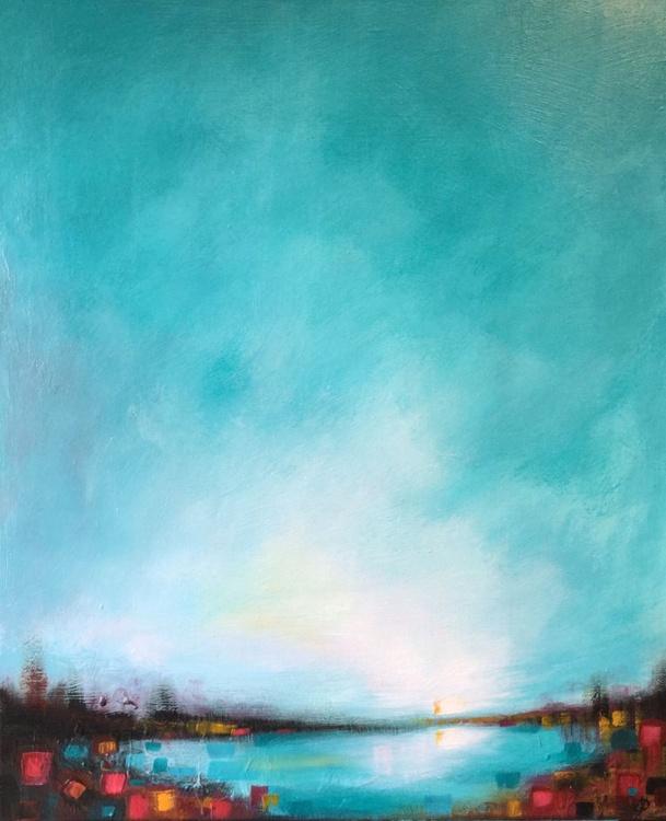 Turquoise pond - Image 0