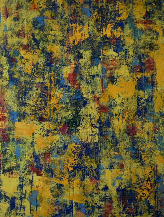 Palette Knife Abstract - Image 0