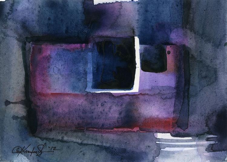 Watercolor Abstraction No. 211 - Image 0
