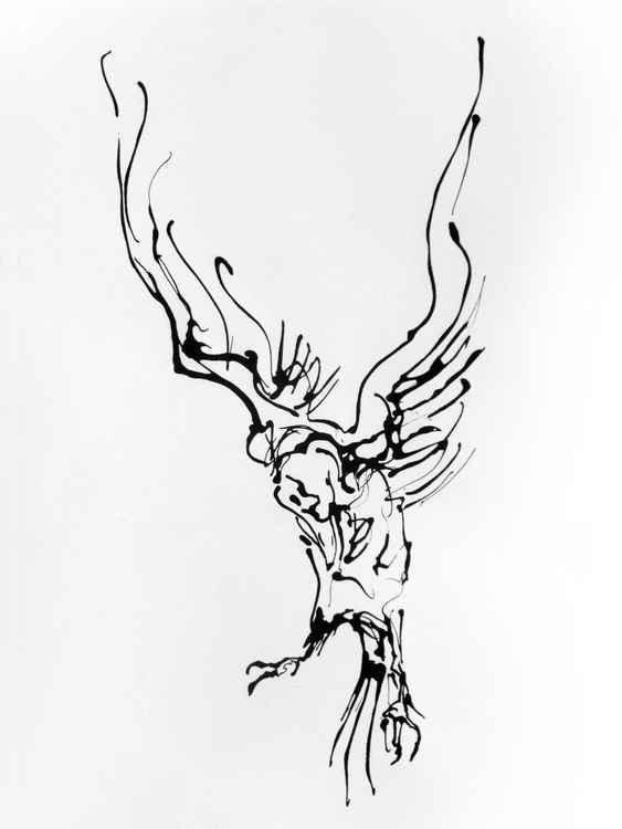 White Raven no.1 -