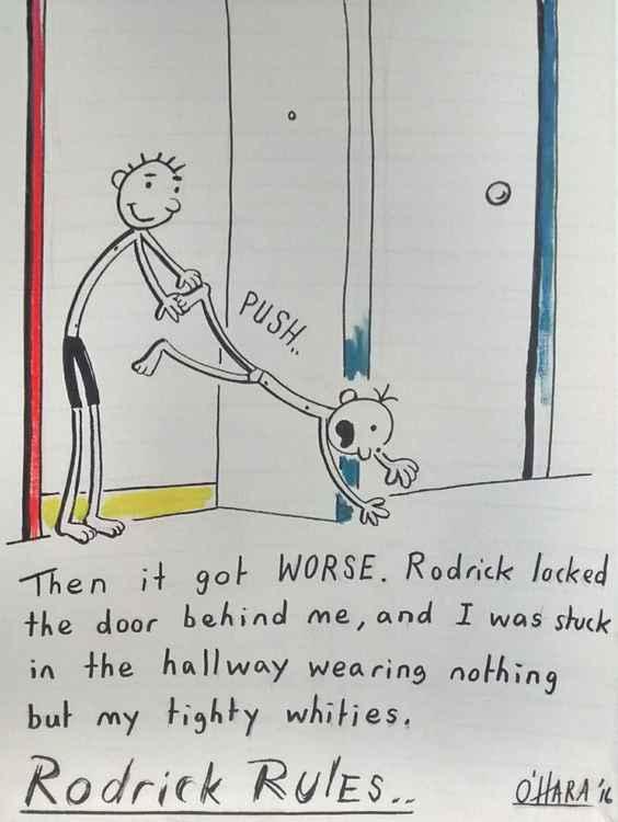 Rodrick Rules. -