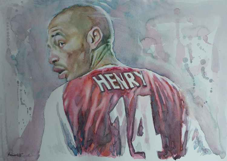 Therry Henry - Portrait 1