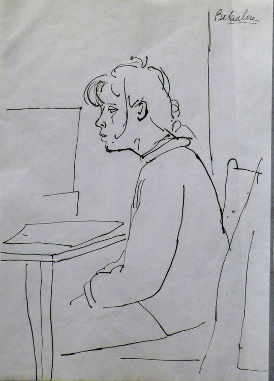 Student 5, 21x29 cm - Image 0