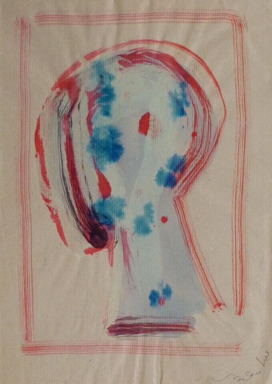 Abstract Head, 23x32 cm - Image 0