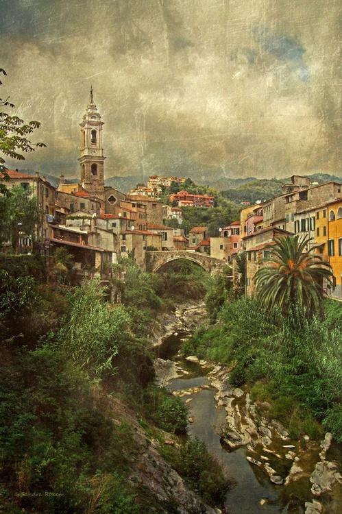 Dolcedo - Canvas 75 x 50 cm - Image 0