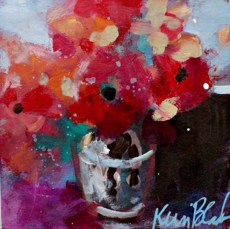 Little Vase of Flowers - Image 0