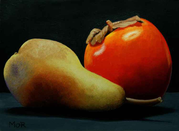 Pear and Persimmon -