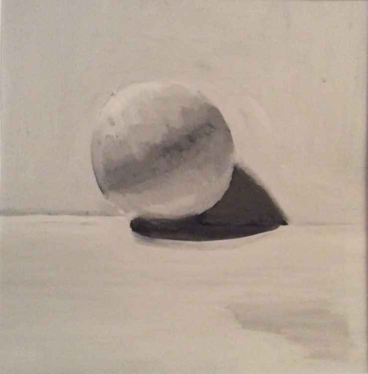 Tonal study B & W sphere