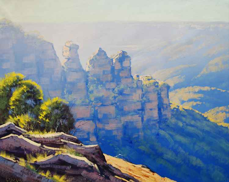 Morning Light Three Sisters -