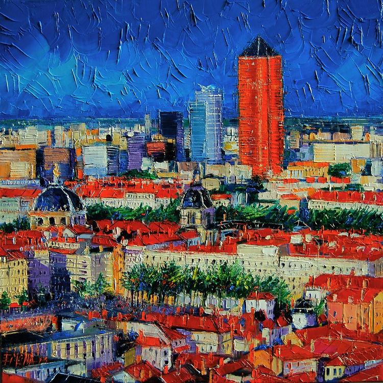 Lyon View From Jardins Des Curiosites - Image 0