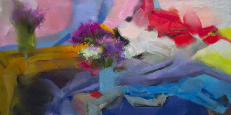 Large Painting- Thing about Spring -
