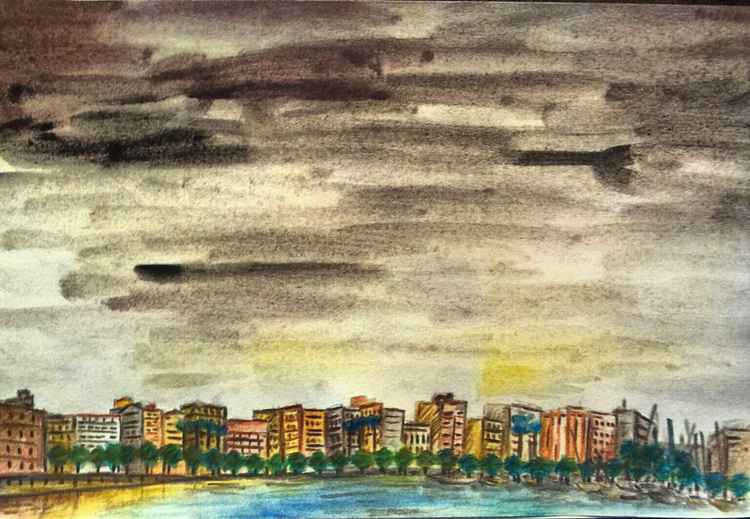 Cloudy Barcelona | Barcelona nublada