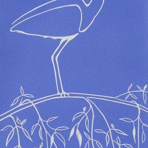 Blue Heron by Paula Cox
