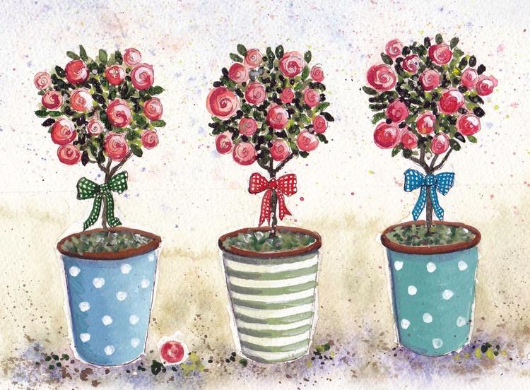 Three Roses - Image 0