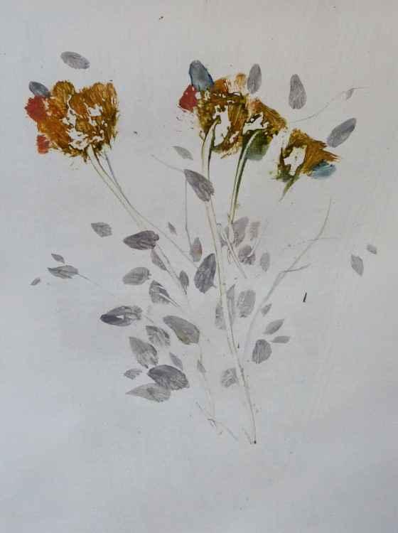Garden Flowers, 24x32 cm